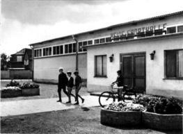 Heide Dorf DDR Altmark Sporthalle