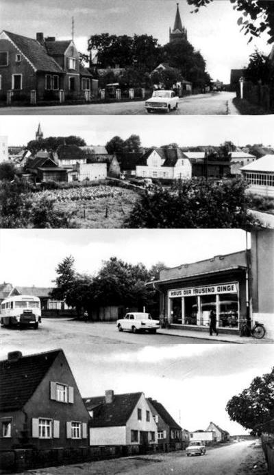 Heide Dorf DDR Altmark Trabi